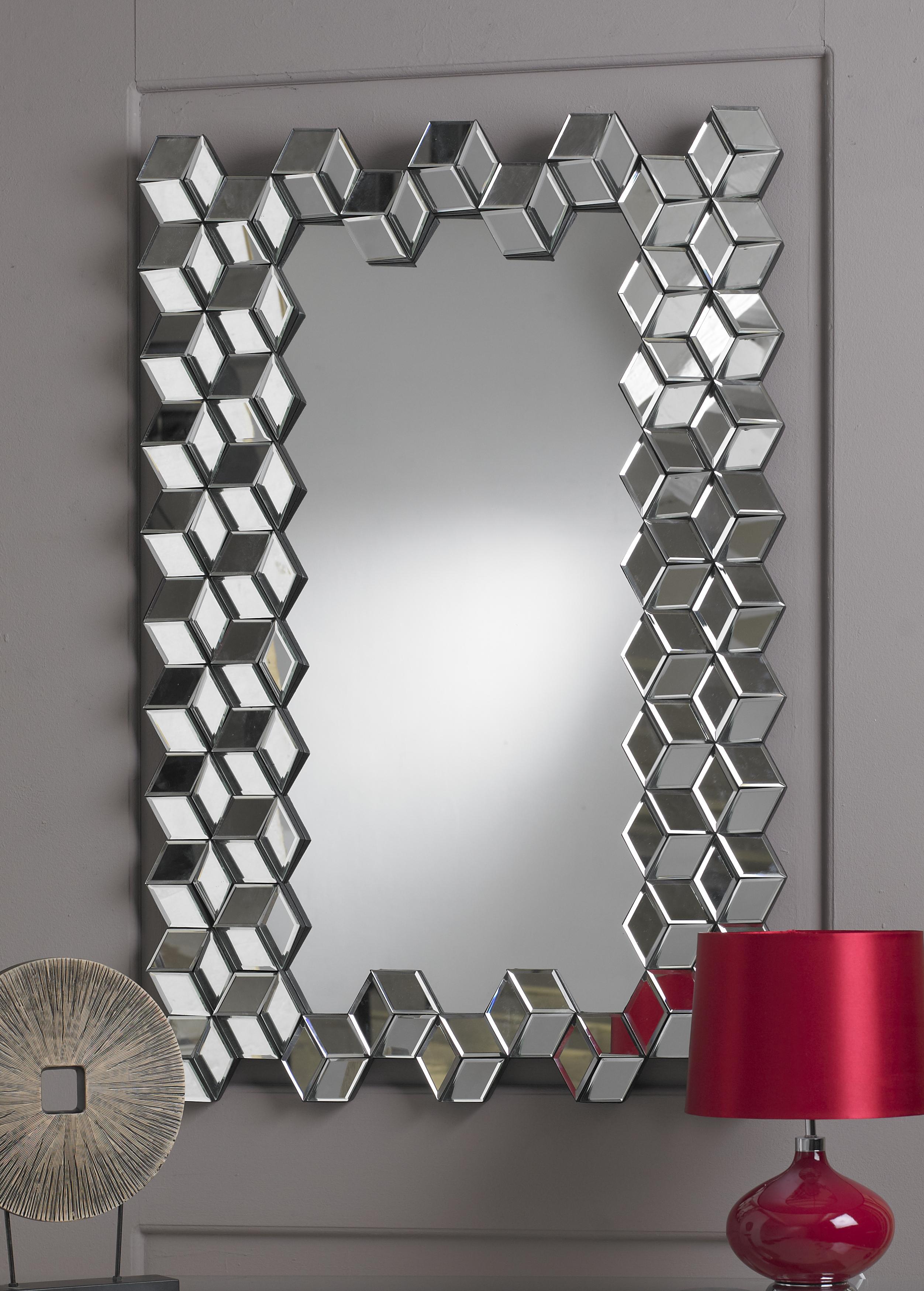 Designer Mirror Swami Glass And Aluminium